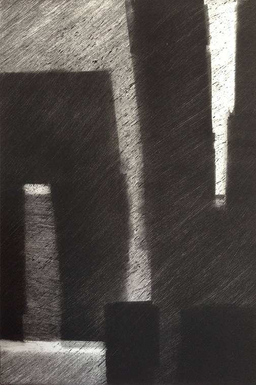"Artist: John Hopkins  Title: Progression 10  Size: 10"" x 15""  Method: Monotype work on paper  Price:  Inquire"
