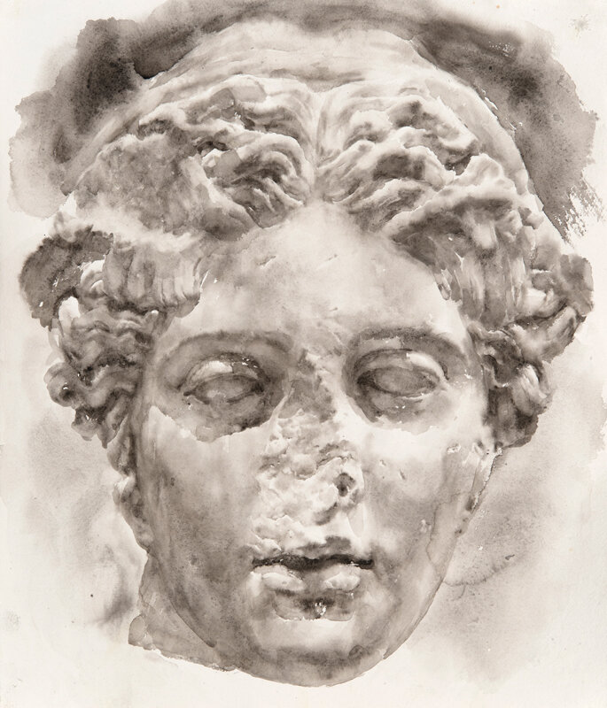 Artist: Wendy Artin  Title: Hypnos  Date: 2019  Size: 20x26  Method: Watercolor  Price:  Inquire