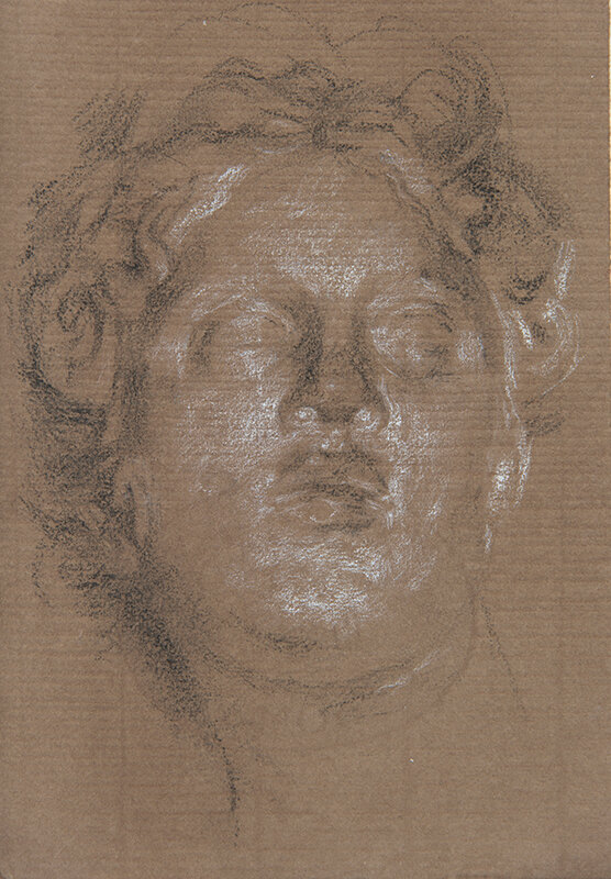 Artist: Wendy Artin  Title: Aphrodite Istambul  Date: 2019  Size: 17x24  Method: Charcoal  Price:  Inquire