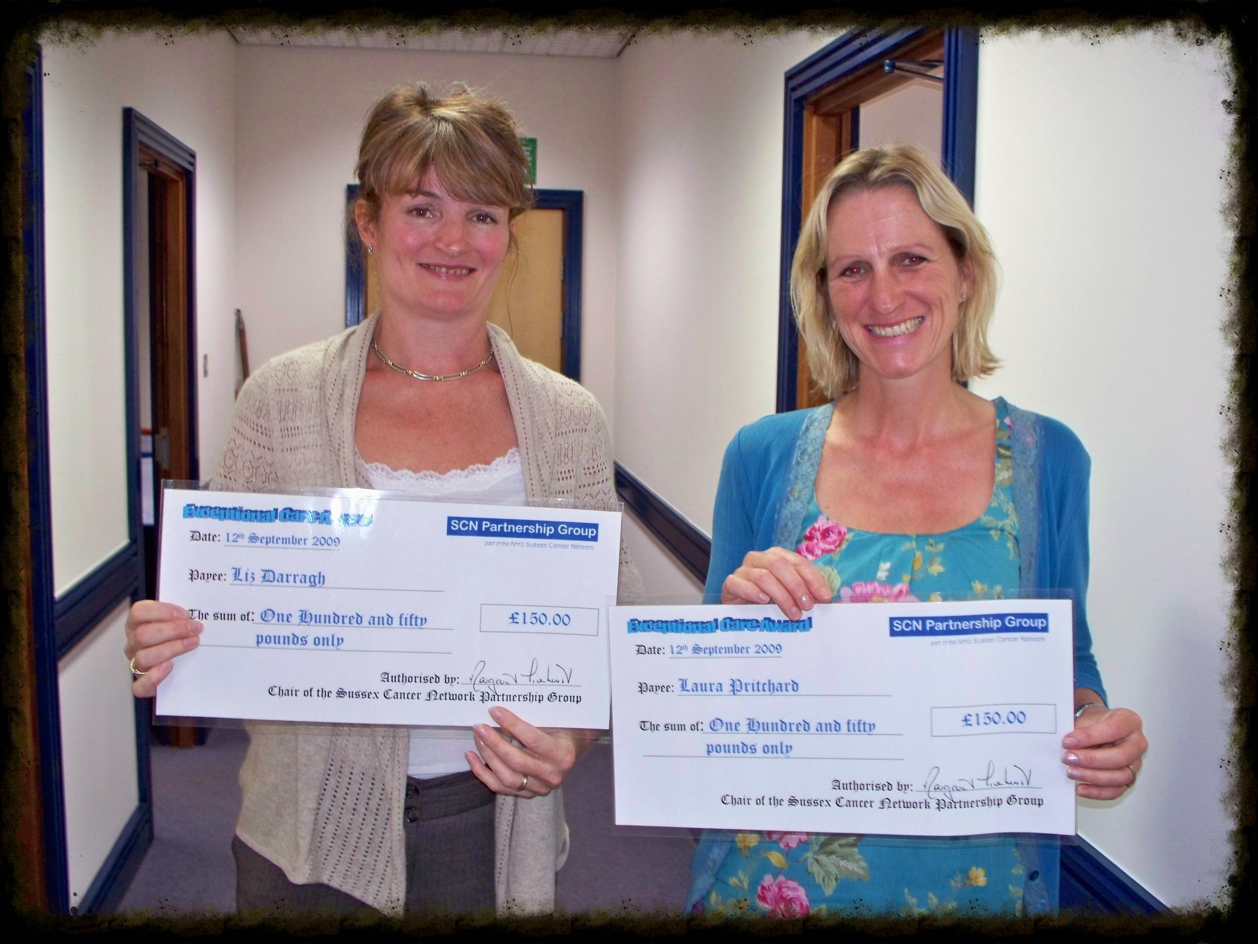 Exceptional Care Award Winners: Liz & Laura