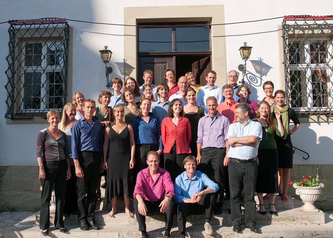 Groepsfoto slotkoor 2009