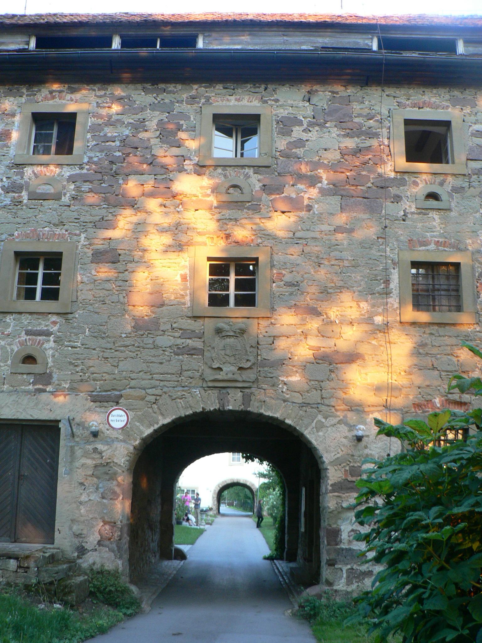 Poort slot Seehaus