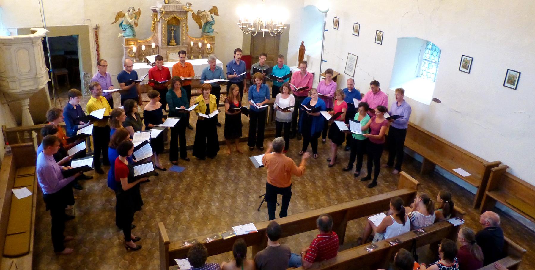 Concert in de kapel
