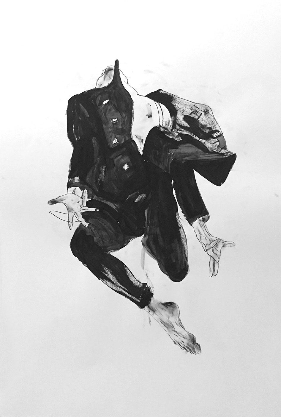 Mais-Sundermann_Tänzer#4_Kohle,-Acryl-auf-Papier_70x100cm.jpg
