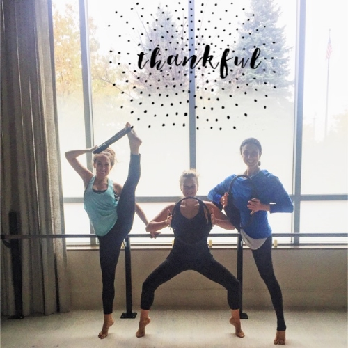 "Tess- Thanks for coming to my classes, cheering me on and for all of your helpful advice! Lauren of ""Sweat with Lauren Hefez"" - I'm forever grateful for your support and encouragement. ""Work"" brought us together and I can never say thank you enough for all you've done for me. Love you!"