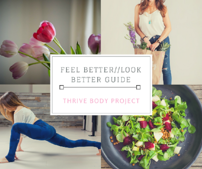 Easy & Free guide to help you get back on track to feeling good and looking good today!