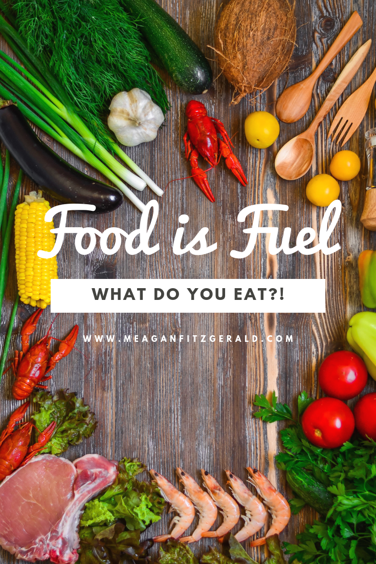 Food is Fuel | What Do You Eat?!