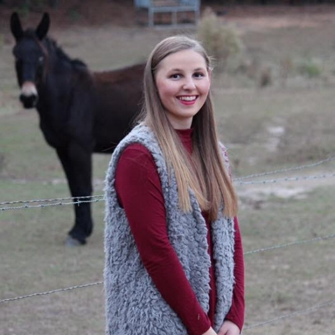 Abi Gossett (2018)  - University of Alabama, majoring in Kinesiology (class of 2021). Daughter of Robert and Susan Gossett. Her father served at TACLET South and retired with 20 years of service.
