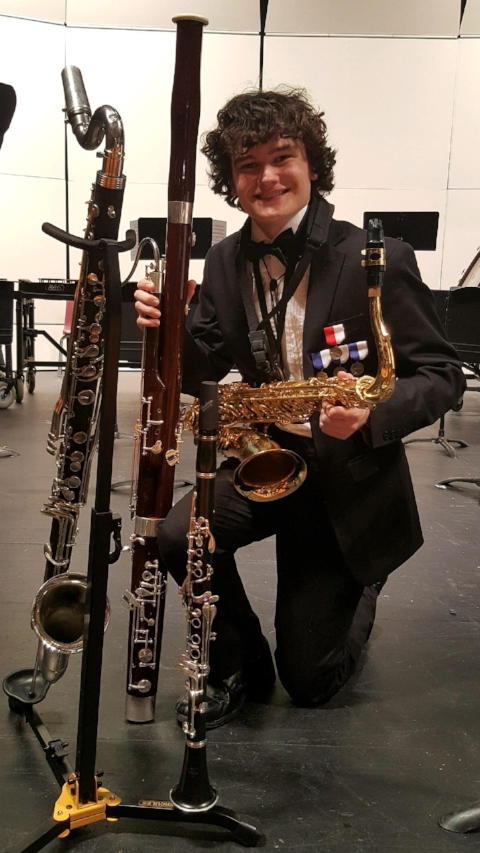 Connor Tumlinson ,  2017 Bruckenthal Memorial Scholarship Recipient