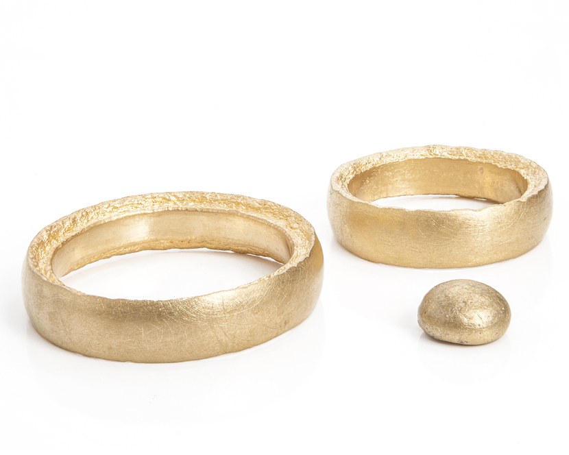 'For you, for me and for us' from Nicole Walger  Available in fine gold and fine silver