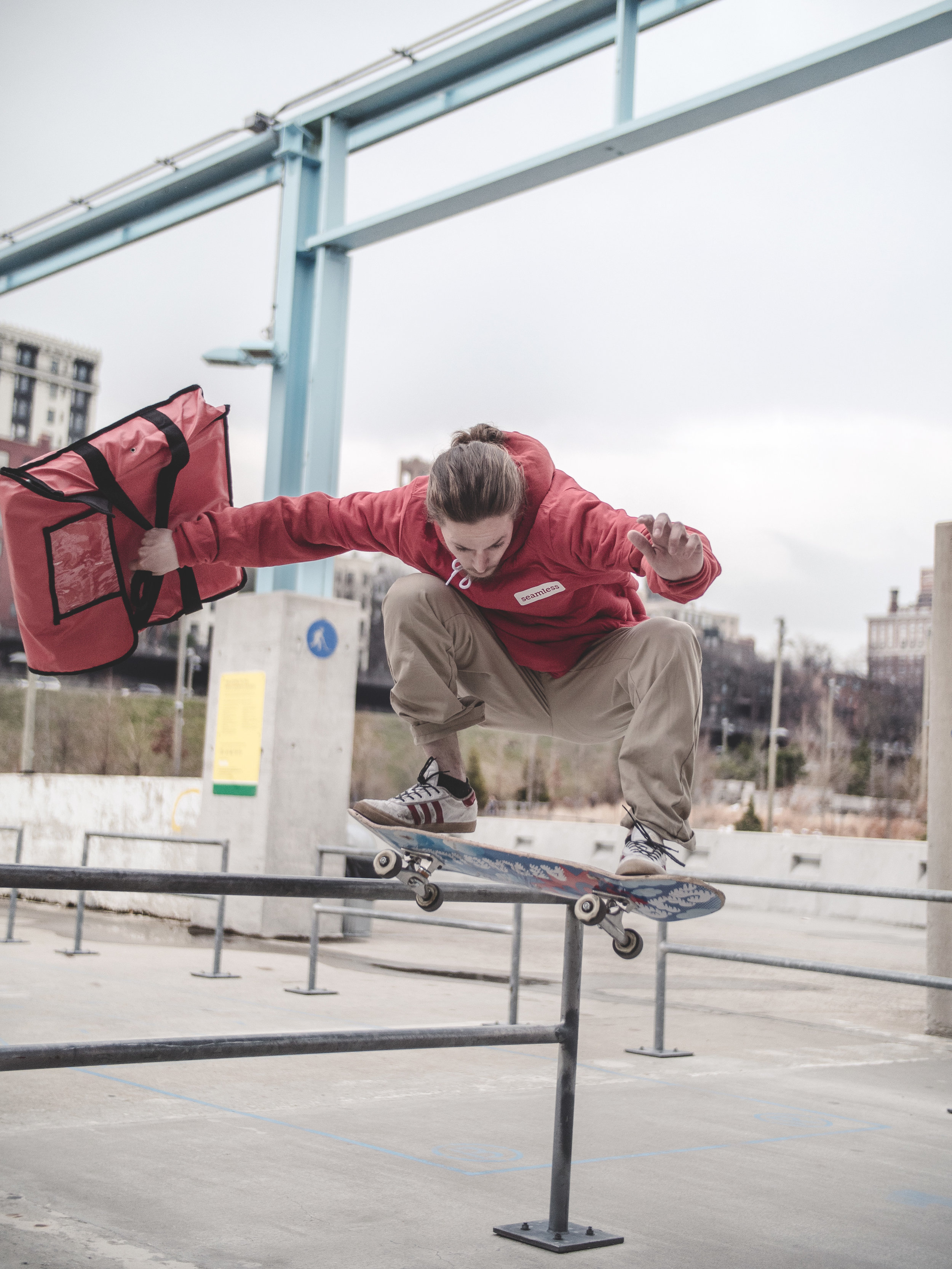 Angelo-Skateboarding-Parkour-Seamless-Grubub-Freeruning-Brooklyn-NY-NYC-New-York-Ollie