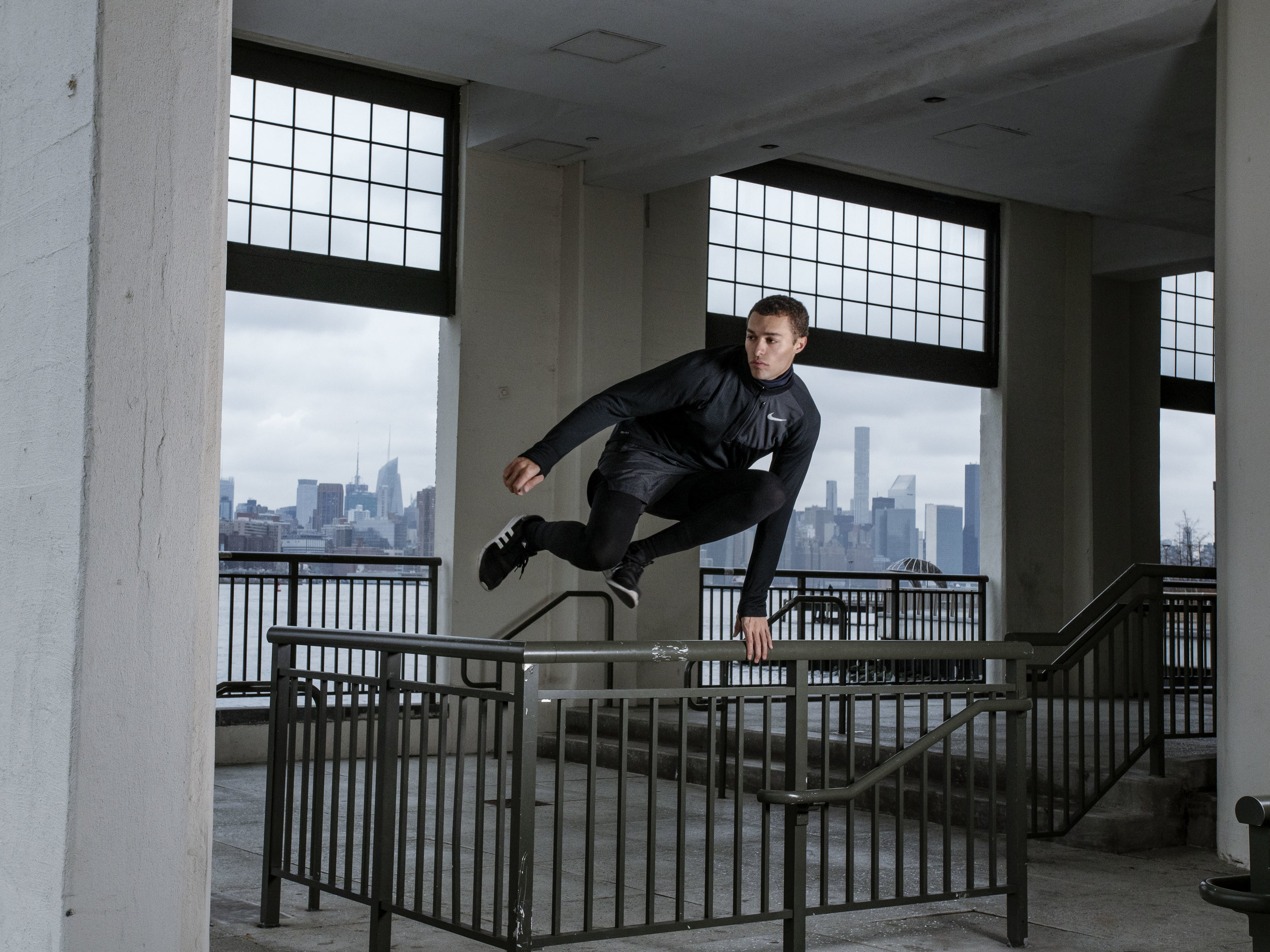 PARKOUR MODELING: MIGUEL SOUTHEE