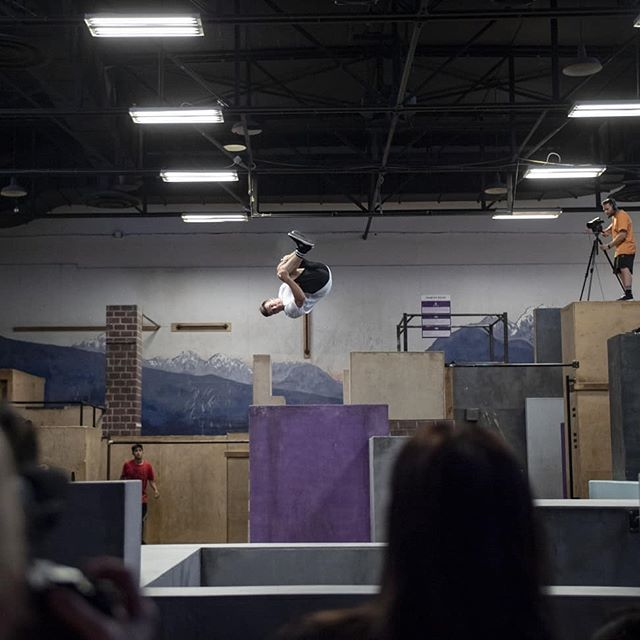 Whispers from NAPC . Decided to take a break from my usual floor shooting shenanigans to actually experience the event and enjoy it, but I guess I couldn't stay away completely. Here are some snaps from the sidelines of day 2. Trust that @kent_johns will have the killer shots from the entire event. . . . . . . . . @sportparkour #napc #napc2019 #sportparkourleague #parkour #freerunning #origins #advancewithprecision #traceur #parkourlife #parkourgirl #stormgang #hubptc #unit45 #stormfreerun