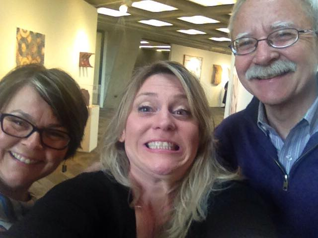 Good friends and wildly talented artists Rita Grendze and Jim Jenkins