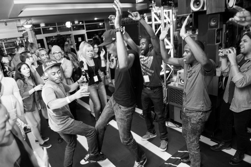 Sometimes, the Kid N' Play is just bound to break out. (c)Hard Rock Hotel Palm Springs