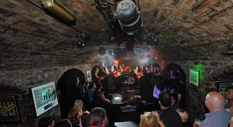 A Beatles tribute band at the Cavern Club (c) Cavern Club