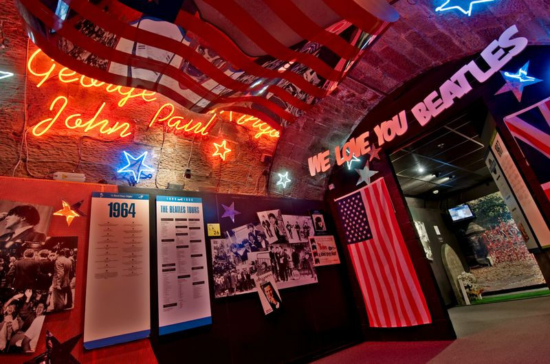 The Beatles Story is a permanent museum dedicated to the Fab Four. It's located at historic Albert Dock. (c) The Beatles Story