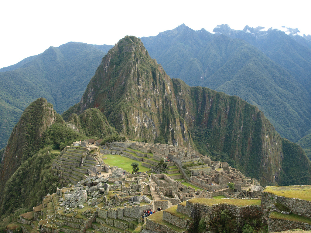 Machu Picchu is one of the greatest architectual achievements of the Inca civilization and a UNESCO World Heritage Site. (c) Matthew Barker, Peru For Less