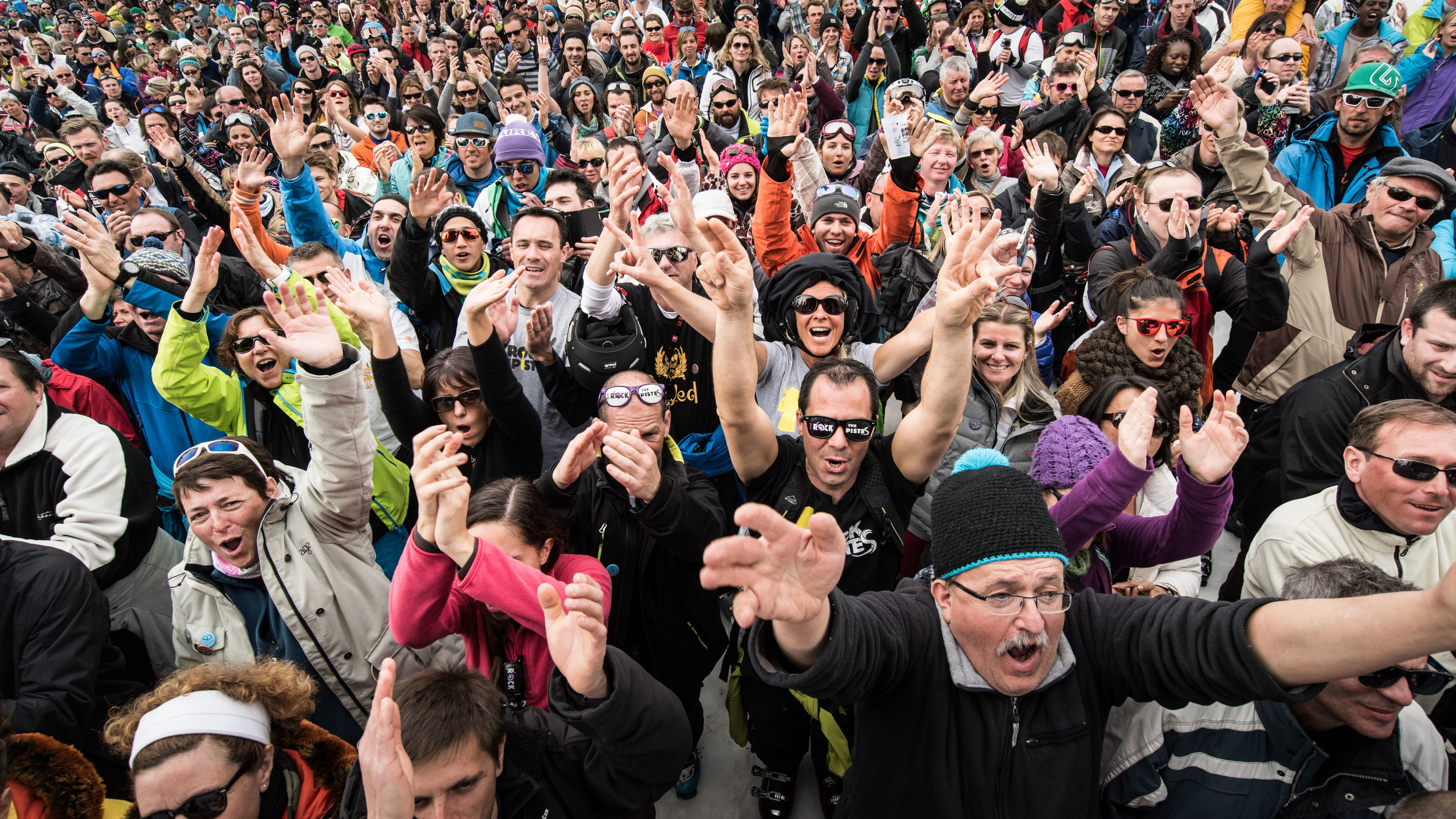 Get ready for a party on the slopes this March. (c) Chatel