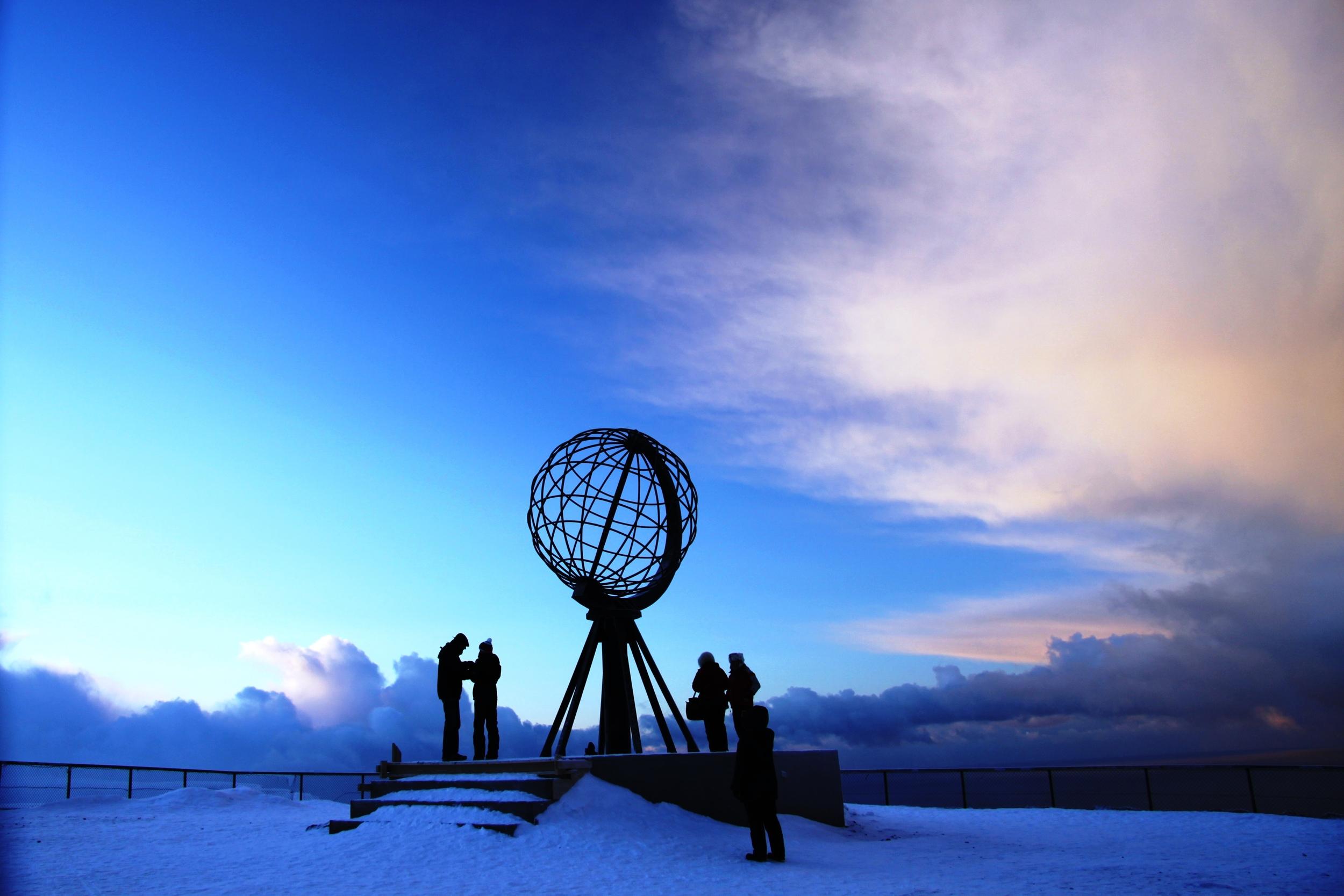 The North Cape feels like the end of the earth. (c) Hurtigruten