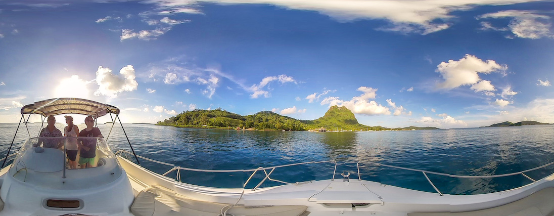 The legendary Bora Bora in 360 / Image courtesy of  superswell VR