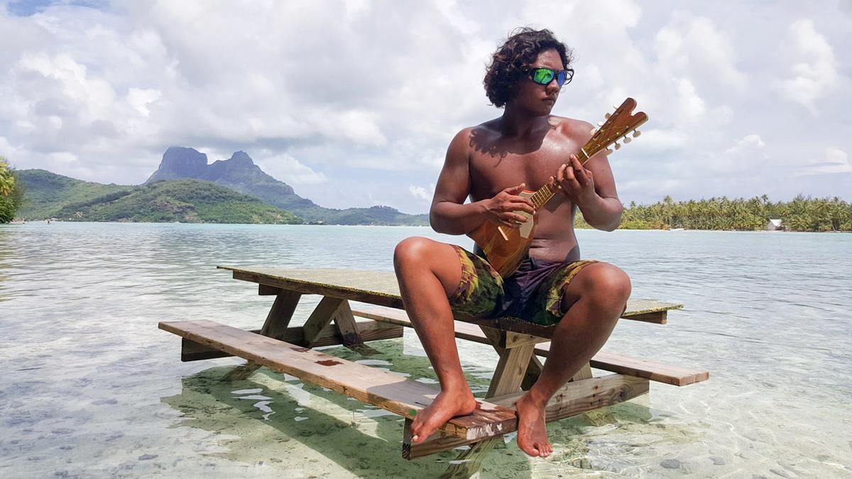One of our Bora Bora crew members. Image courtesy of  Wasim Muklashy