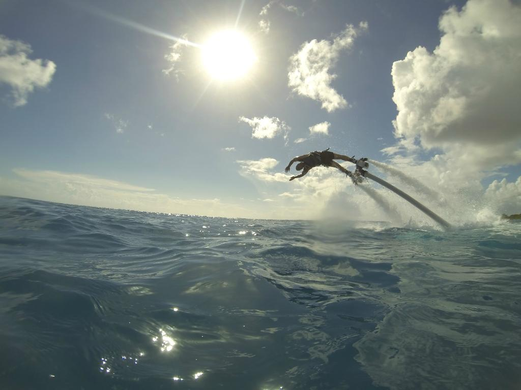 Image courtesy of Zapata Flyboard Caribbean