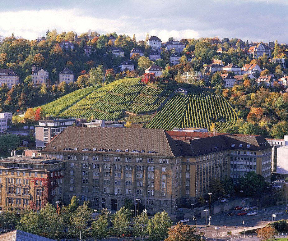 Some vineyards in Stuttgart are located within the city center. Image courtesy of the Germany National Tourist Board.