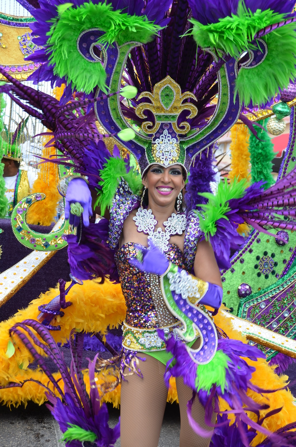 Carnival is where the party's at. Image courtesy of the Aruba Tourism Authortiy.
