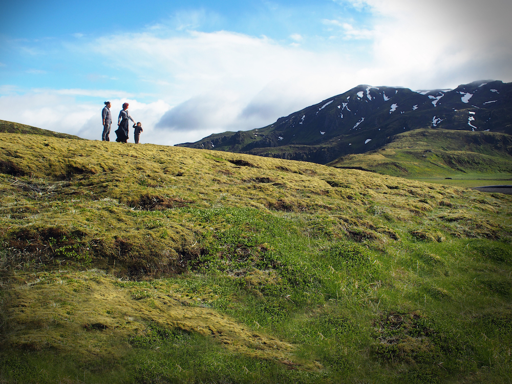 The hills are alive in Iceland.