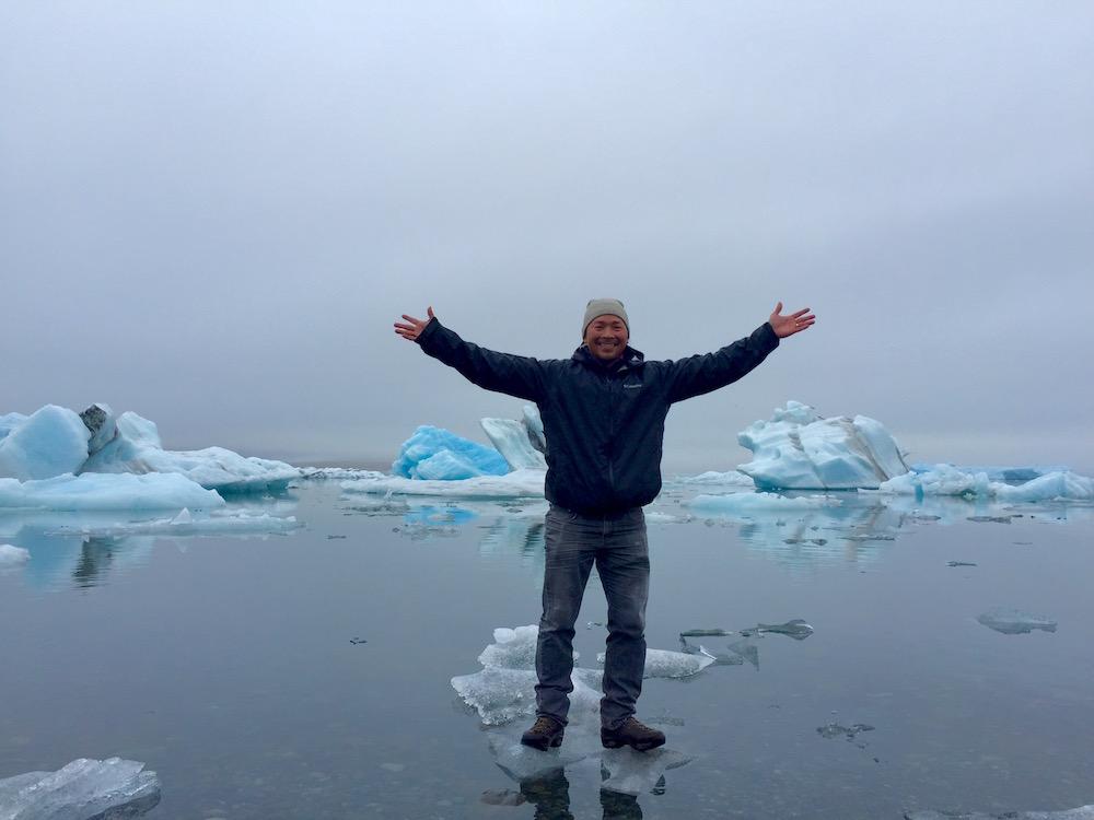 T Standing on an Iceberg.jpg