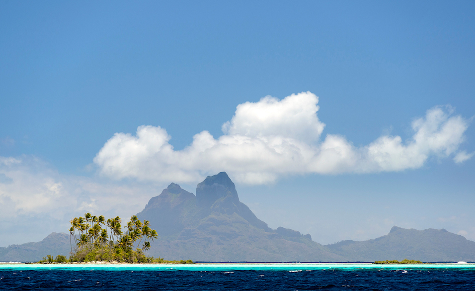 Bora Bora. Image courtesy of  Chris McLennan and  Tahiti Tourisme .
