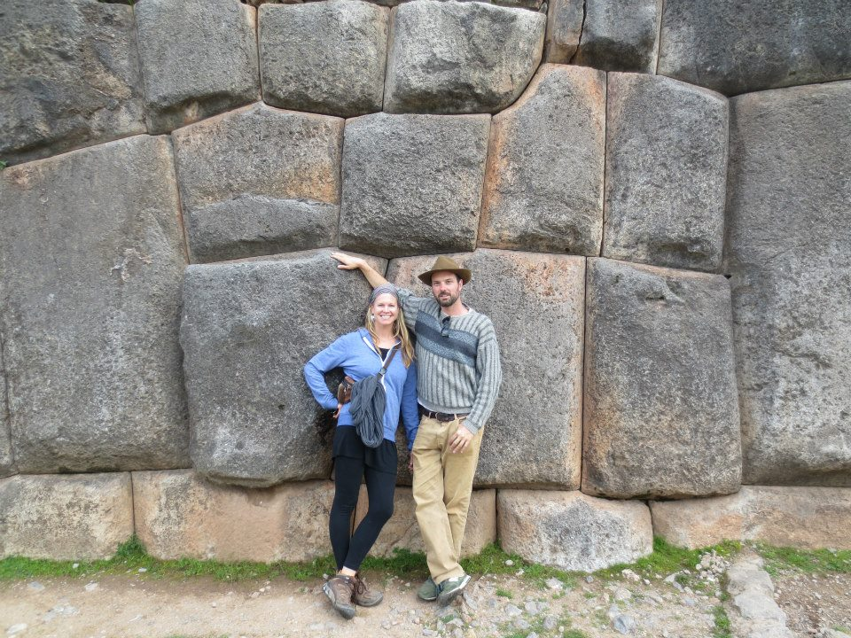 The fearless couple in Cusco, Peru