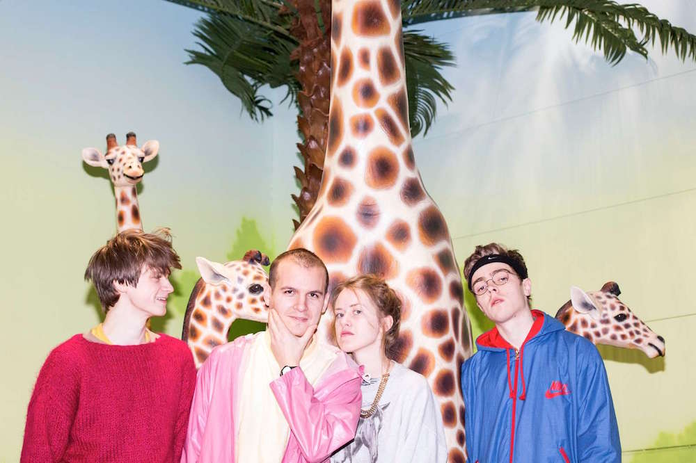 Fans came out for Pom Poko at Roskilde 2017. Image Courtesy of Pom Poko.