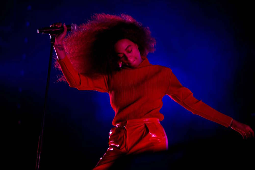 Solange took her seat at the table this year. Image courtesy of Betina Garcia.