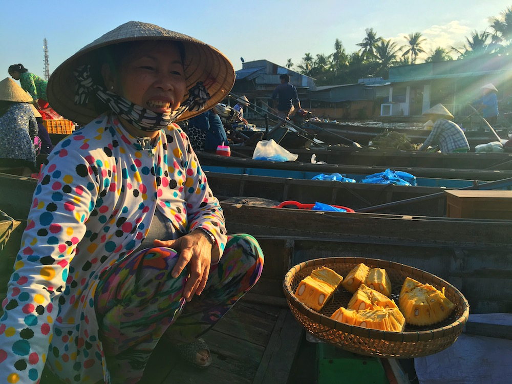 Traveling solo gave Sabrina more opportunities to connect with locals in Asia, where she spent her first three months abroad.