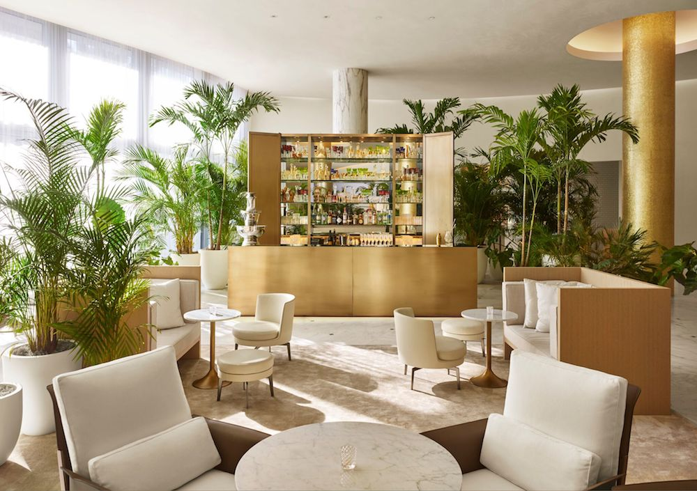 The Miami Beach Edition has saved 397,000 plastic cups and plans on going completely free of single-use plastic. Image courtesy of Edition Hotels