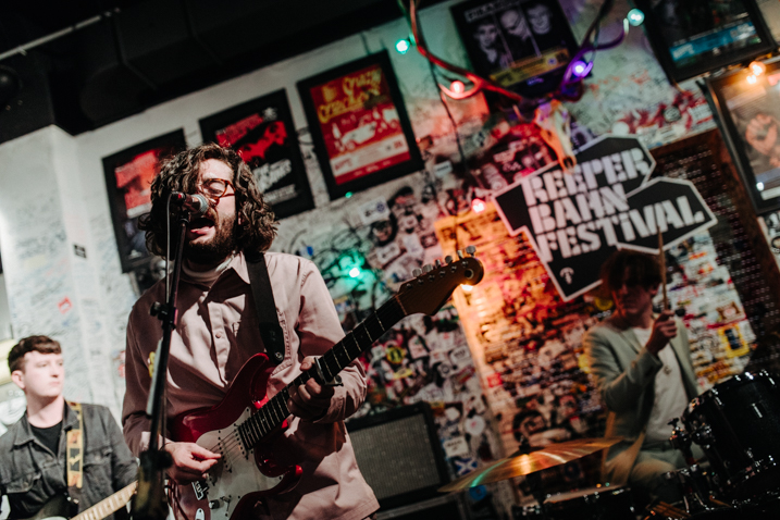 Fatherson performs at Reeperbahn Festival. Image courtesy of Christoph Eisenmenger.