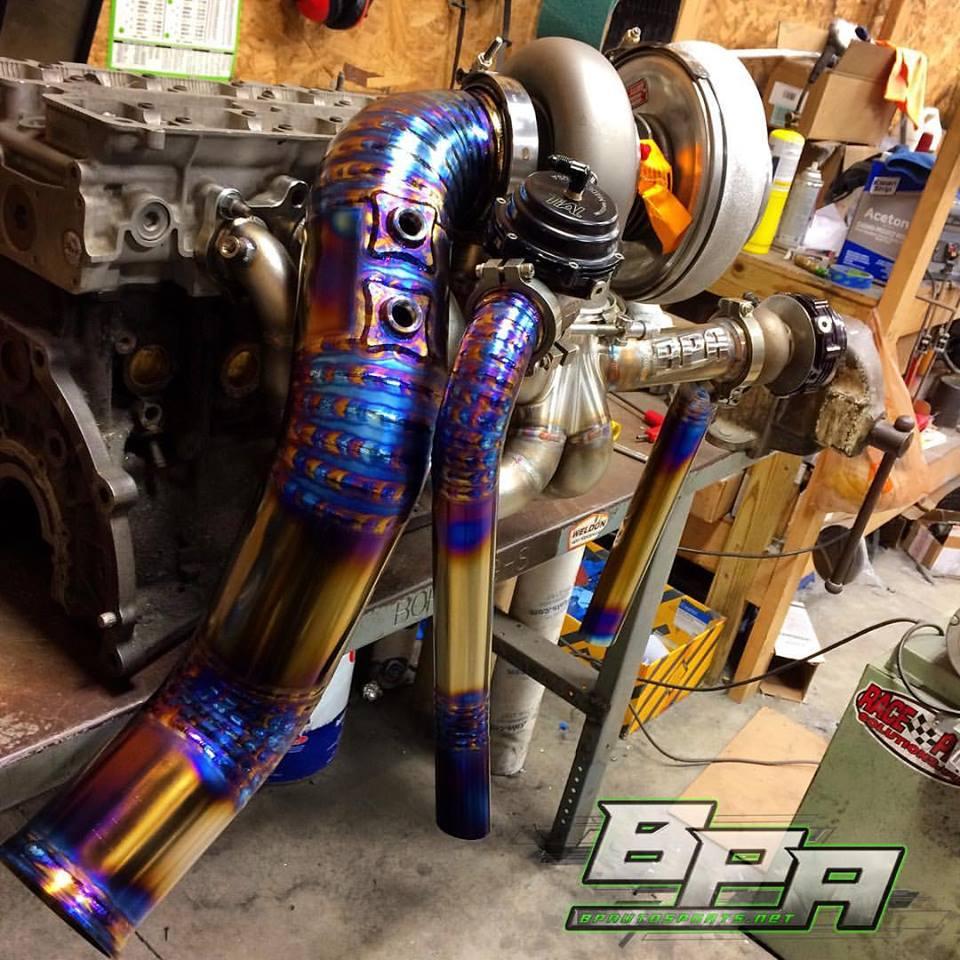 Titanium Welding and Fabrication — BP Autosports, LLC