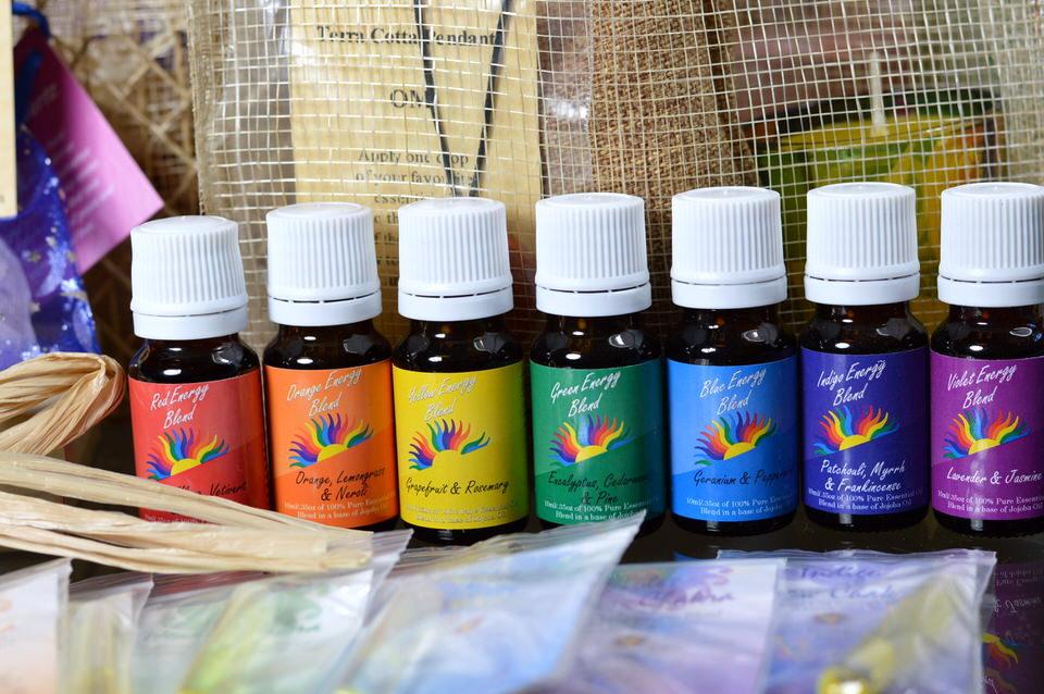 Colour Energy 7 Chakra Blends Karma Baskets