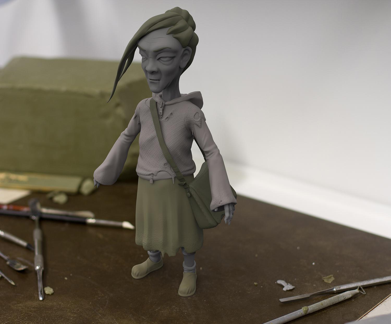 """""""Bags"""" Concept Sculpt"""