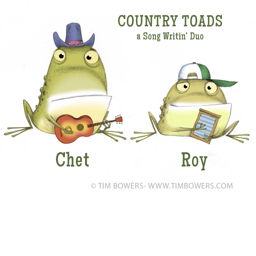 "Very early ""Chet and Roy"", Country Toads."