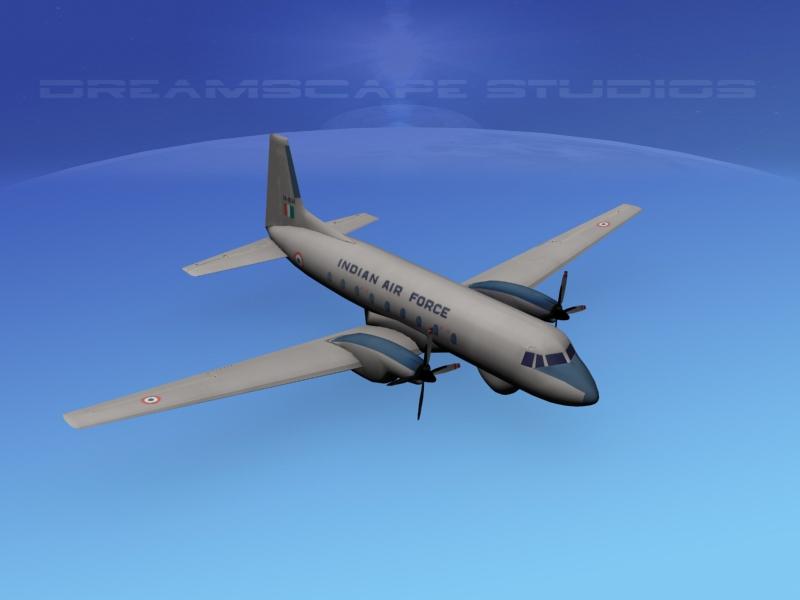 Hawker Siddeley HS748 Low Poly.jpg