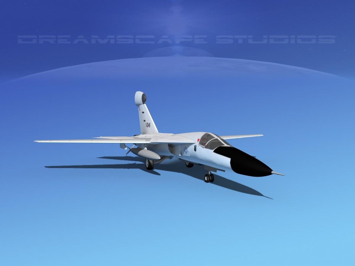 General Dynamics EF-111 Raven Bare Metal