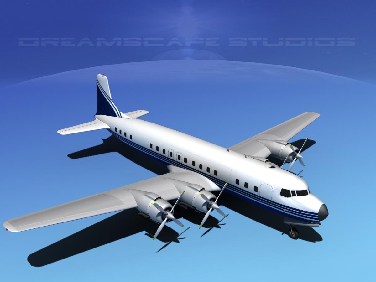 Douglas DC-7C Corporate 5
