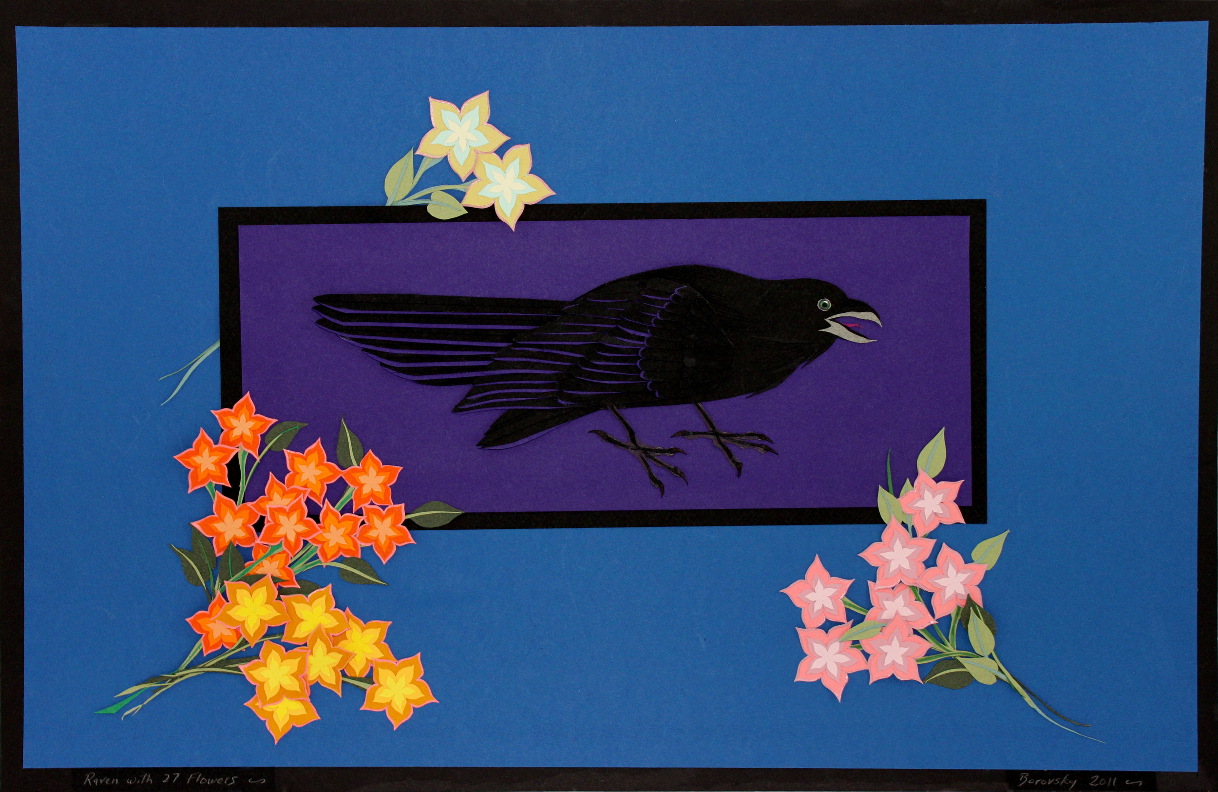 "Raven   22 x 13""                         sold"