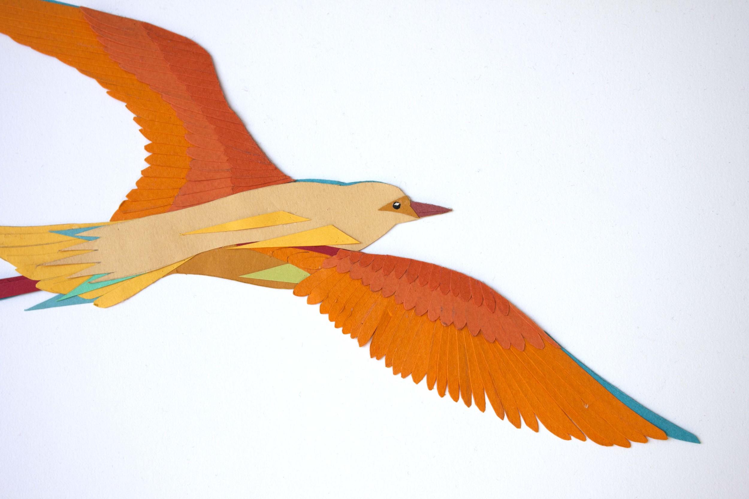 Detail of Golden Bird