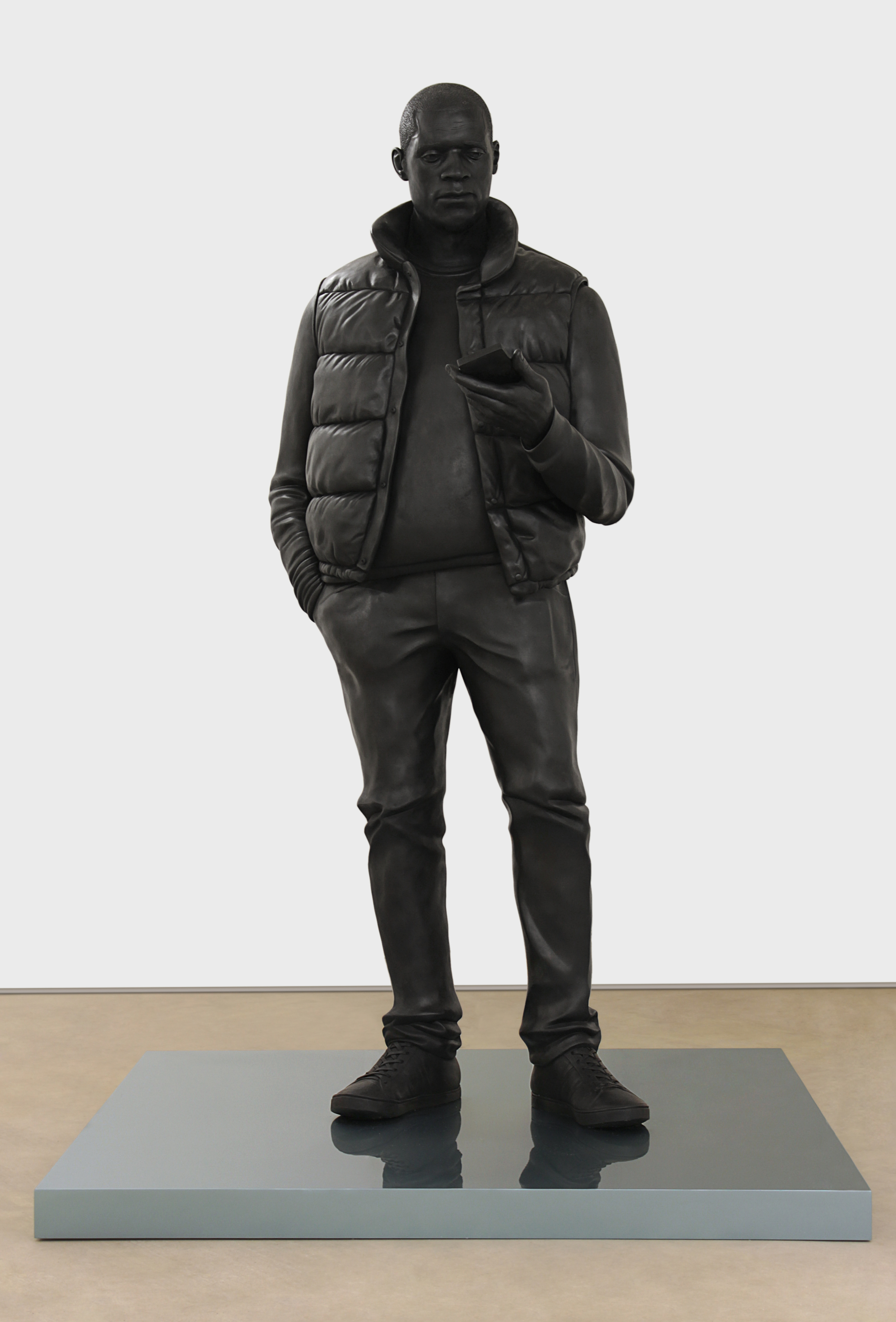 Tom Price, Network, 2013, bronze, 274.3 x 100 x 92.1 cm.jpg