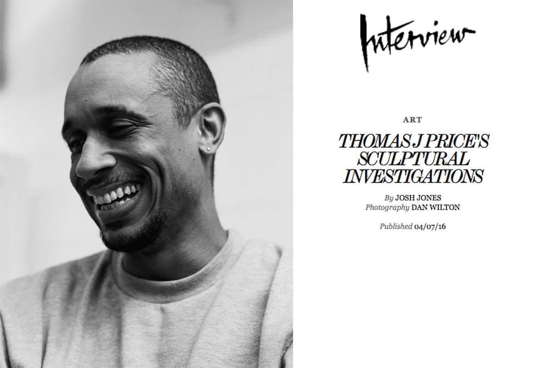 Click     H       ERE    to read the interview. (Portrait by    Dan Wilton   )