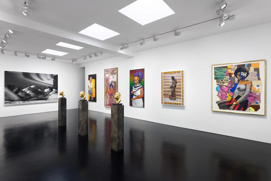 Wallpaper* review of the group show at Stephen Friedman gallery, curated by Yink Shonibare. Read the online article  here .